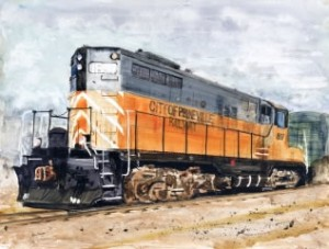 PrinevilleRailroad-Locomotive